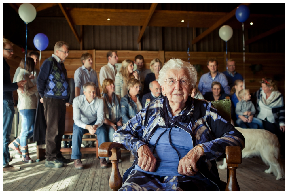 Familyshoot: Oma 90 jaar